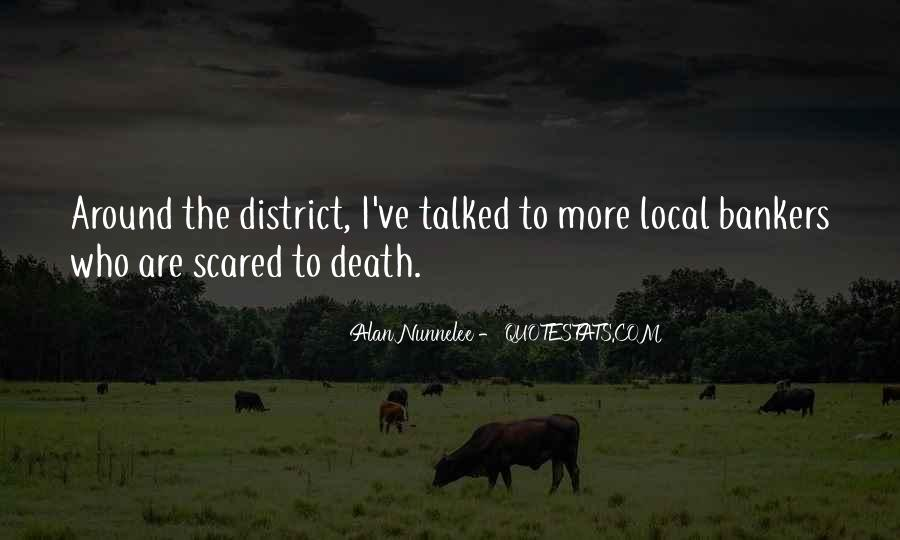 Quotes About Not Scared Of Death #208252