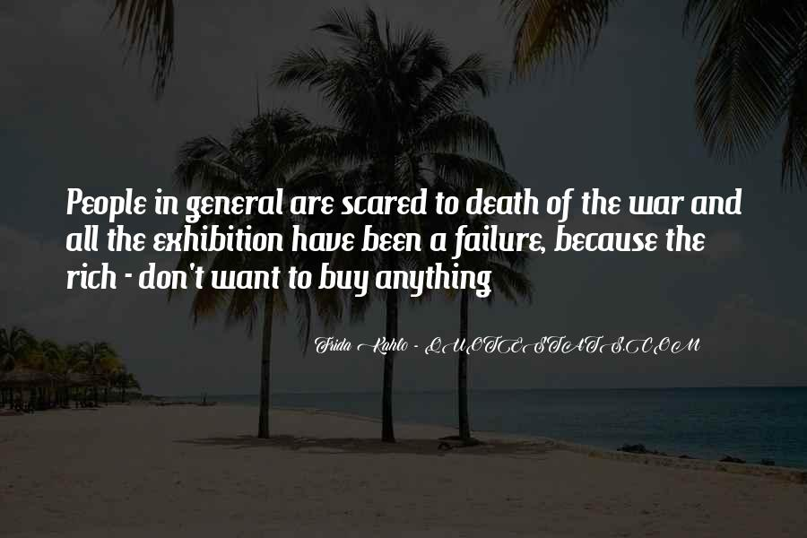 Quotes About Not Scared Of Death #235718