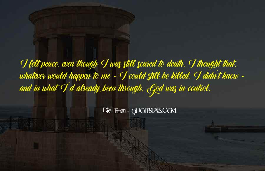 Quotes About Not Scared Of Death #236649