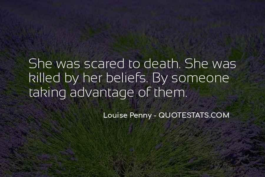 Quotes About Not Scared Of Death #239312