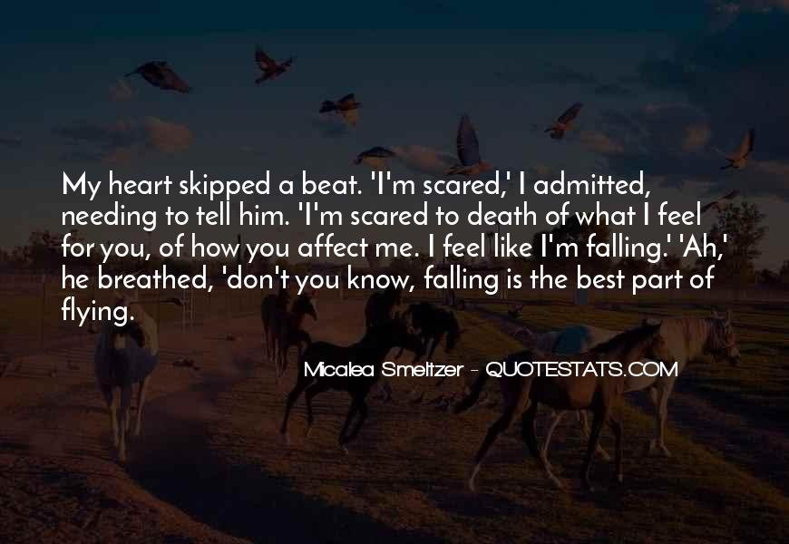 Quotes About Not Scared Of Death #258512