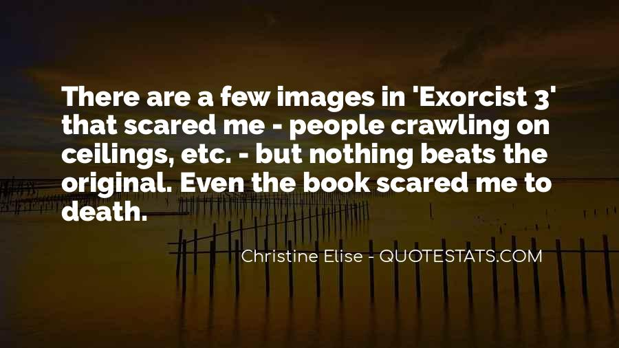 Quotes About Not Scared Of Death #315044