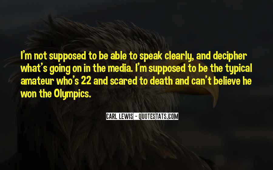 Quotes About Not Scared Of Death #323097
