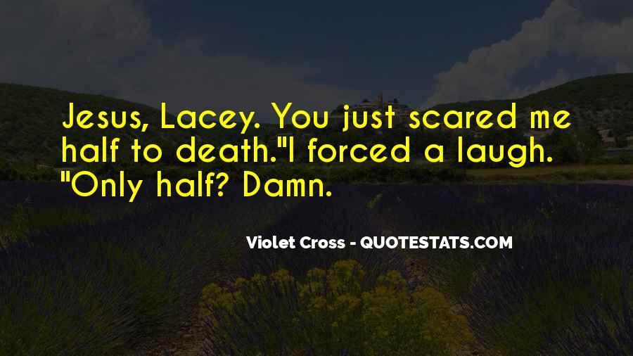 Quotes About Not Scared Of Death #333081