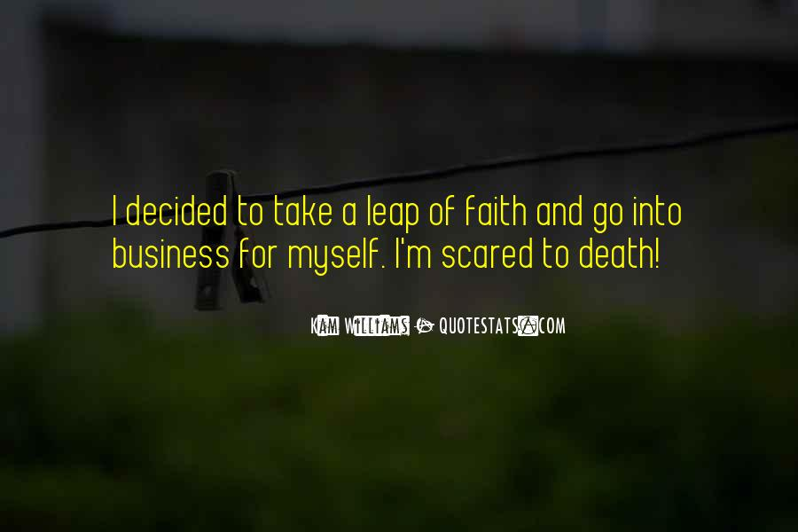 Quotes About Not Scared Of Death #337395