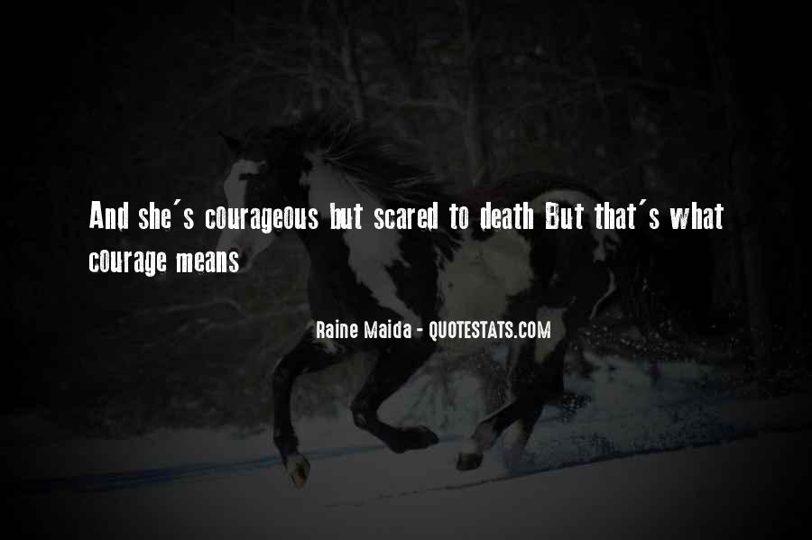 Quotes About Not Scared Of Death #380854