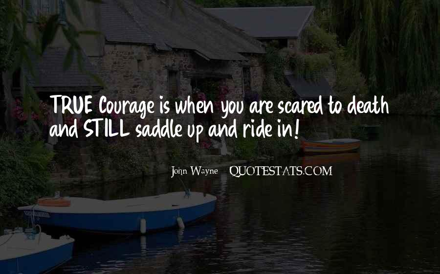 Quotes About Not Scared Of Death #398962