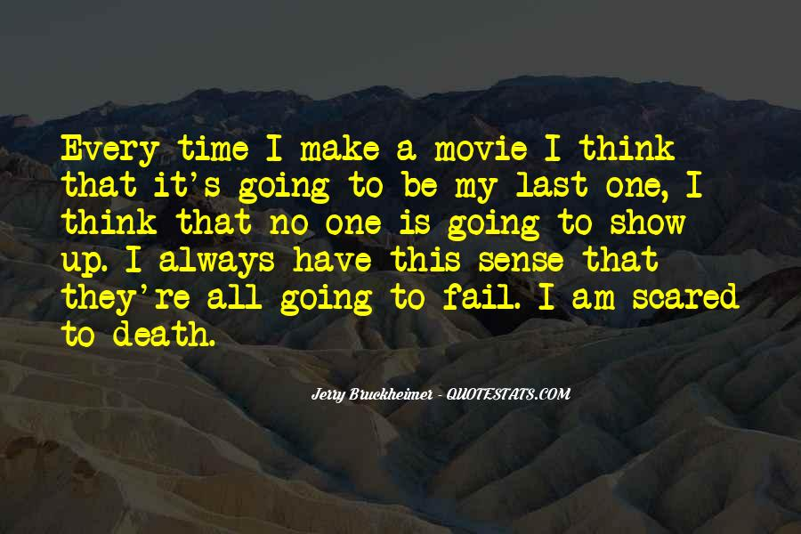 Quotes About Not Scared Of Death #405565