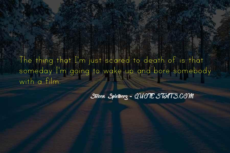 Quotes About Not Scared Of Death #444403