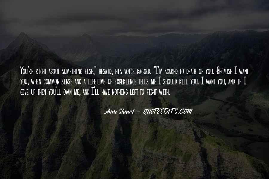Quotes About Not Scared Of Death #482434