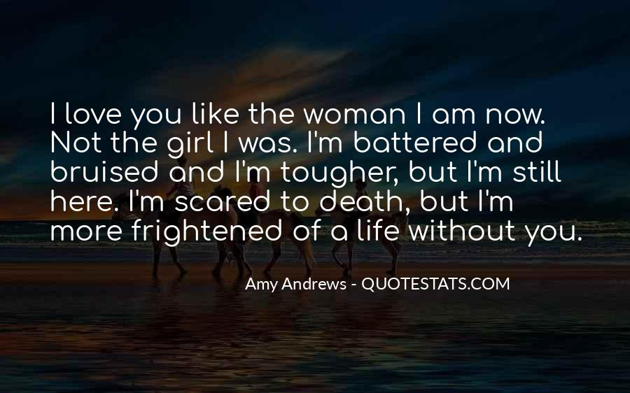 Quotes About Not Scared Of Death #553948
