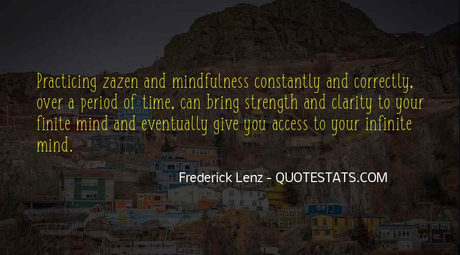 Quotes About Mind Over Strength #1343098