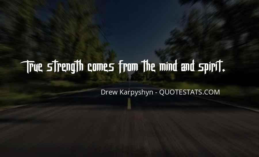 Quotes About Mind Over Strength #211153