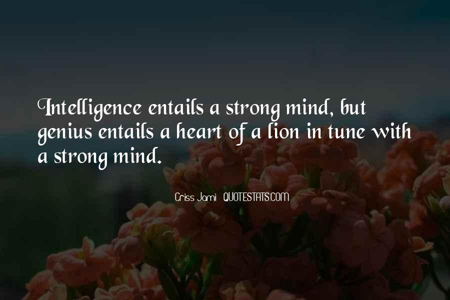 Quotes About Mind Over Strength #27089