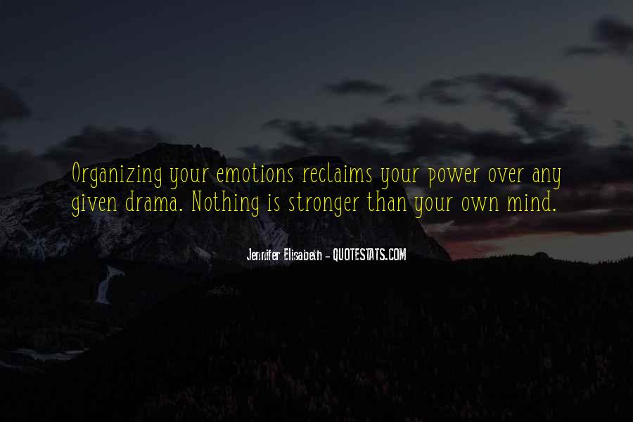 Quotes About Mind Over Strength #406186