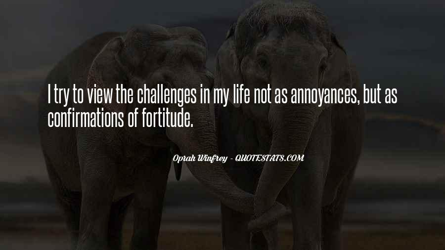 Quotes About Fortitude #160065