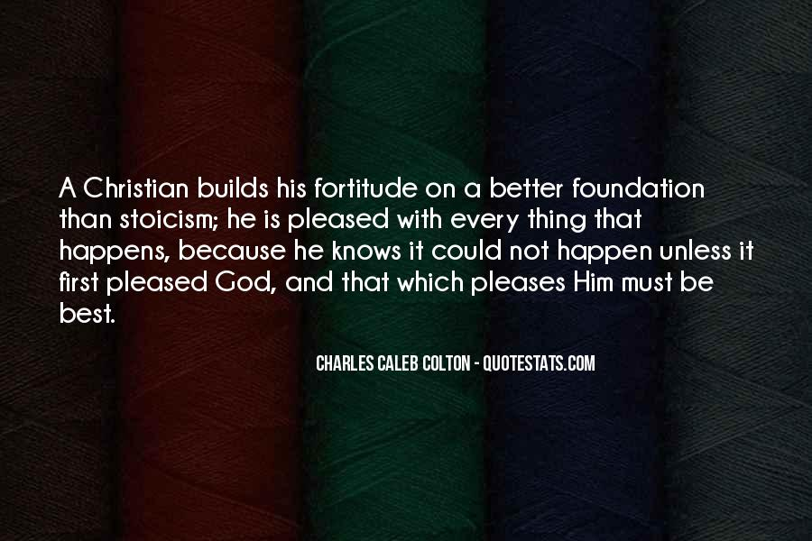Quotes About Fortitude #163935