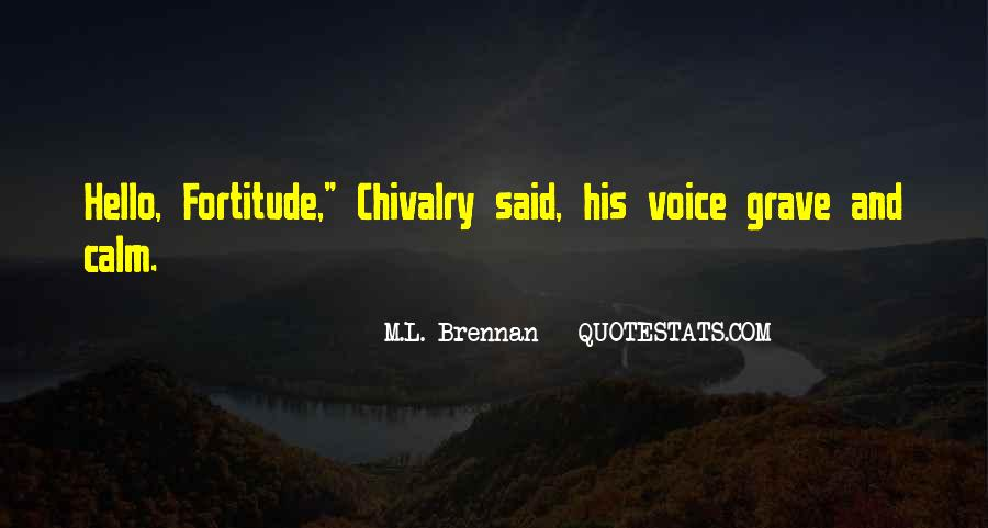 Quotes About Fortitude #17052