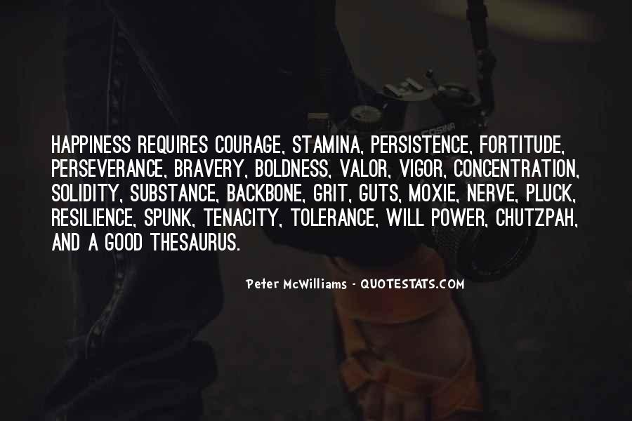 Quotes About Fortitude #388237
