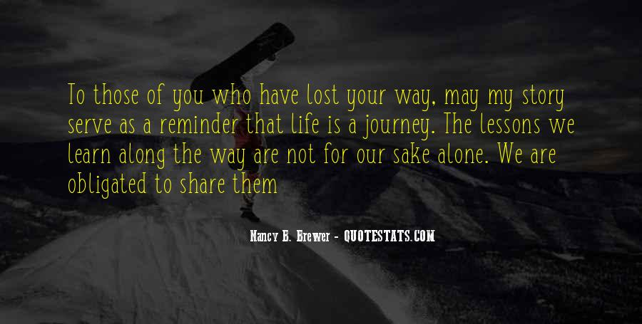Quotes About Those We Have Lost #1002387