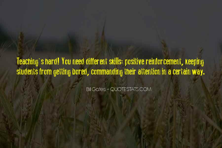 Quotes About Commanding Attention #1129564