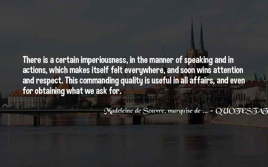 Quotes About Commanding Attention #1755451