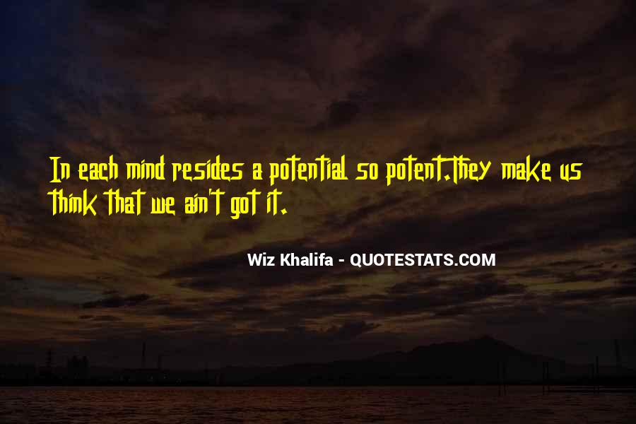 Quotes About Potential #22098