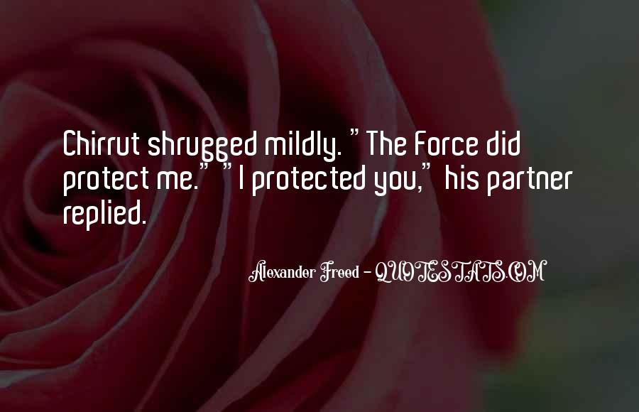 Quotes About Star Wars Force #1760375