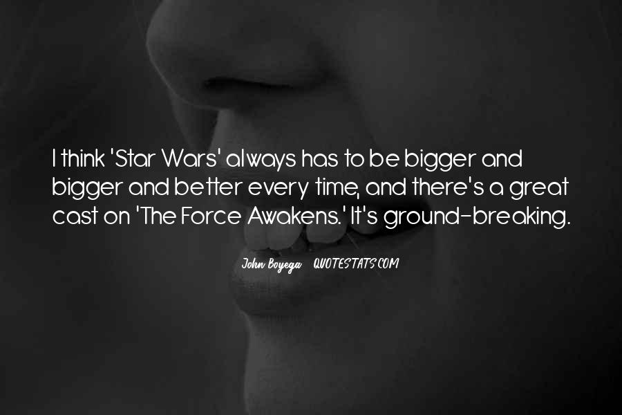 Quotes About Star Wars Force #1784877