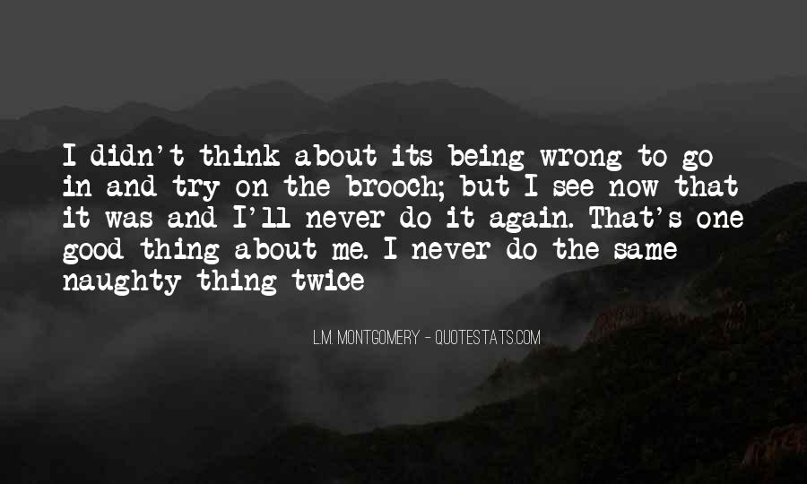 Quotes About Never Being The Same Again #1063433