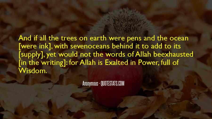 Quotes About Pens And Writing #1264560