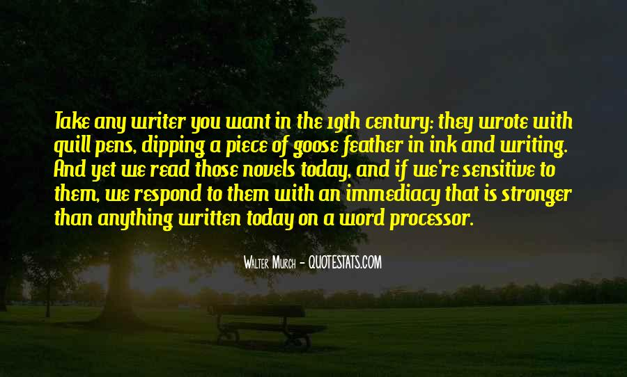 Quotes About Pens And Writing #504020