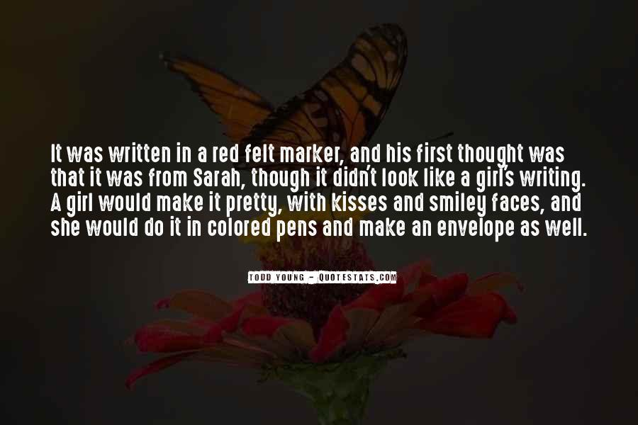 Quotes About Pens And Writing #706849