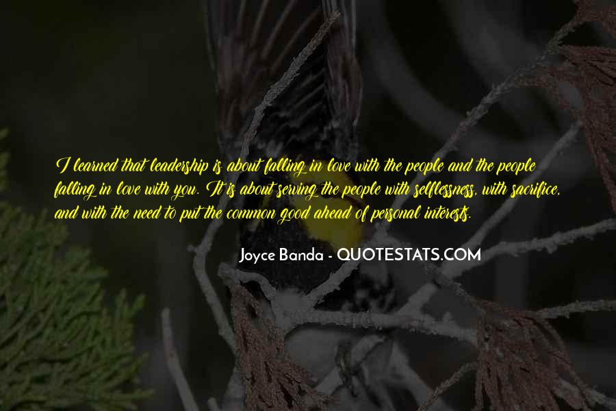 Quotes About Interests #15437