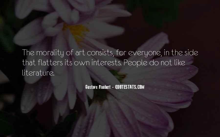 Quotes About Interests #16394
