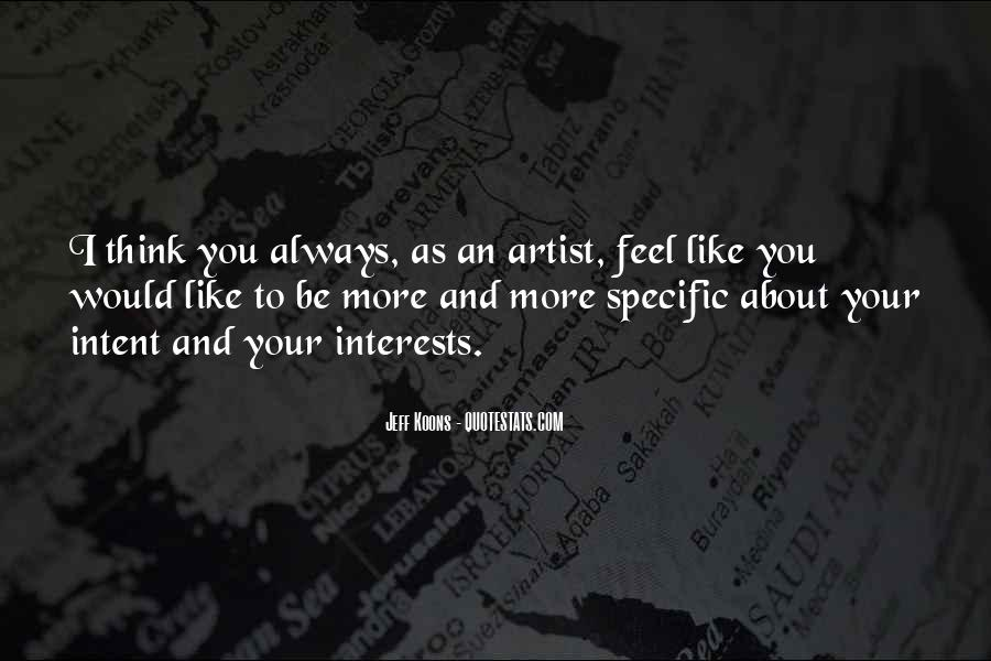 Quotes About Interests #20276