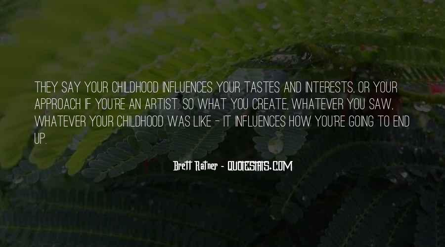 Quotes About Interests #35500