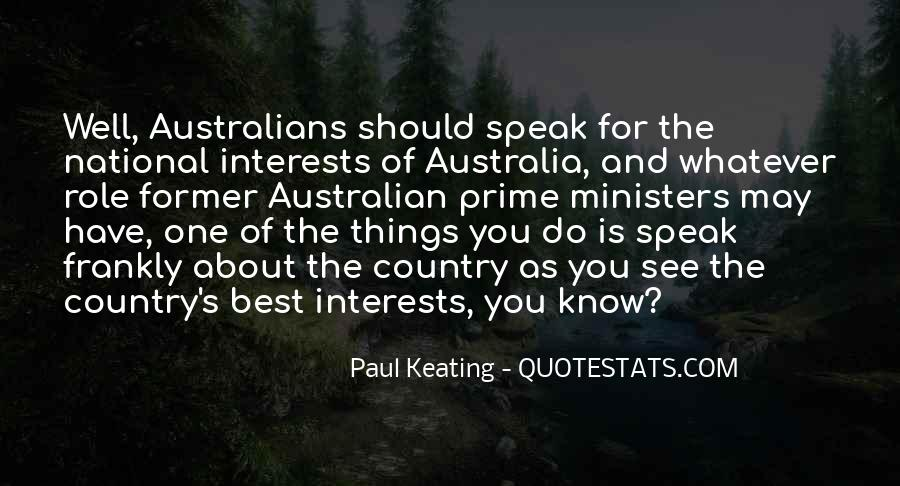 Quotes About Interests #40638