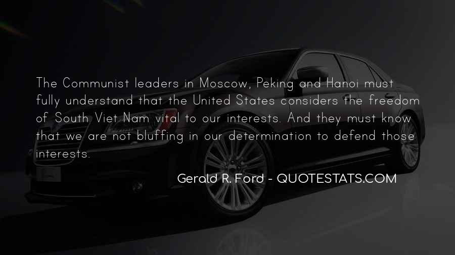 Quotes About Interests #45510