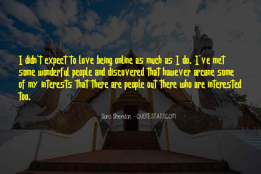 Quotes About Interests #55465