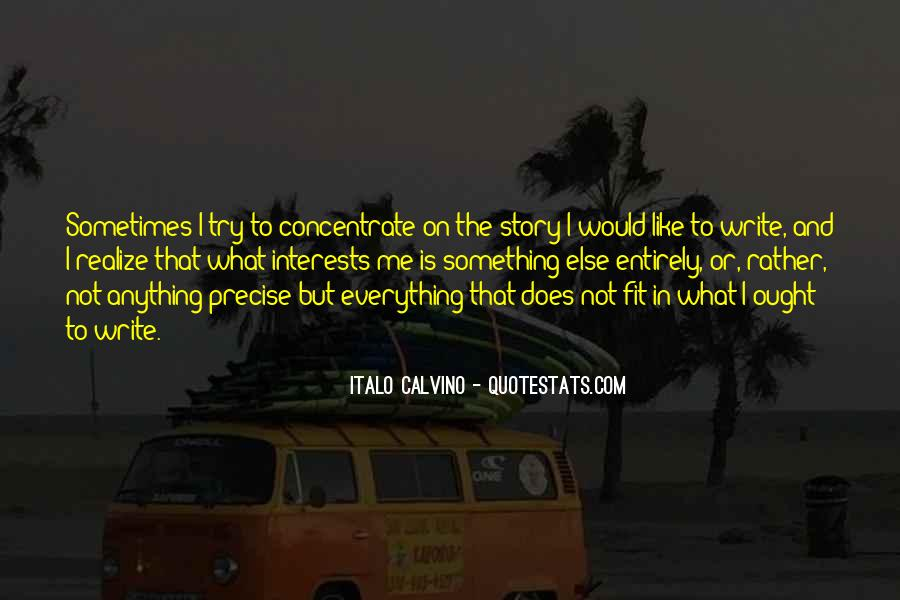 Quotes About Interests #60875