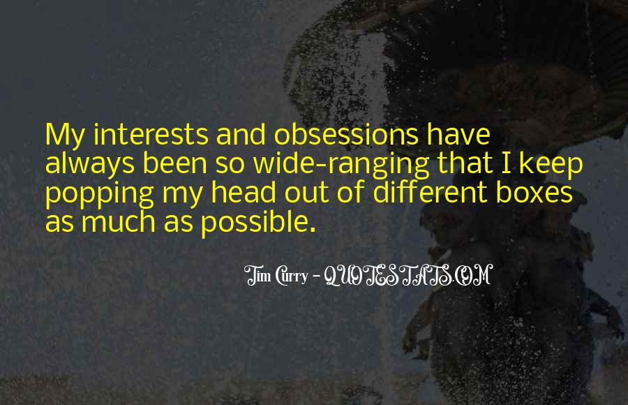 Quotes About Interests #71599