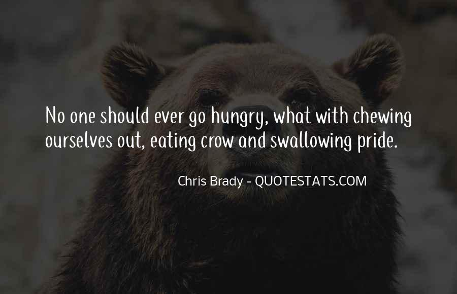 Quotes About Eating Crow #1702170