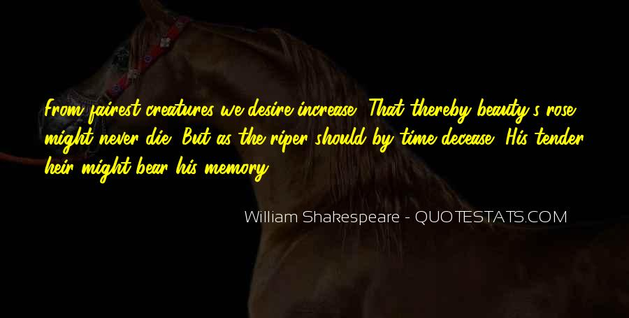 Quotes About Beauty By William Shakespeare #1564361