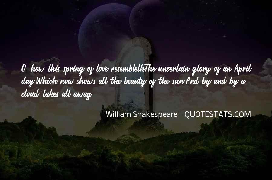 Quotes About Beauty By William Shakespeare #1861716