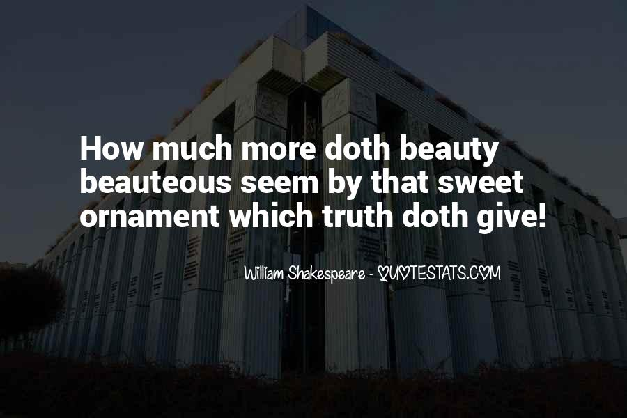 Quotes About Beauty By William Shakespeare #1877888