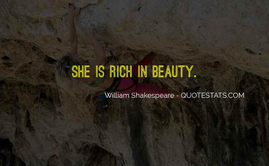 Quotes About Beauty By William Shakespeare #662459