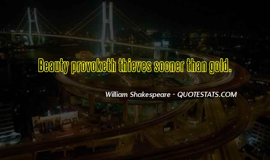 Quotes About Beauty By William Shakespeare #676479