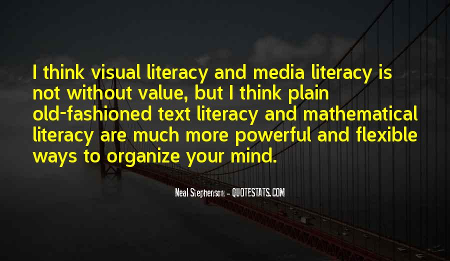 Quotes About Media Literacy #1111744