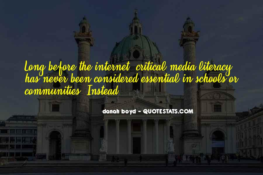 Quotes About Media Literacy #513580